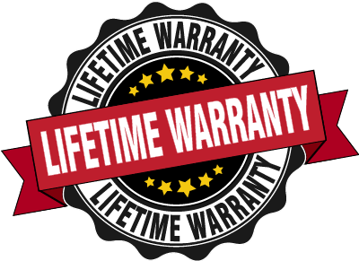 Lifetime Manufacturing Warranty